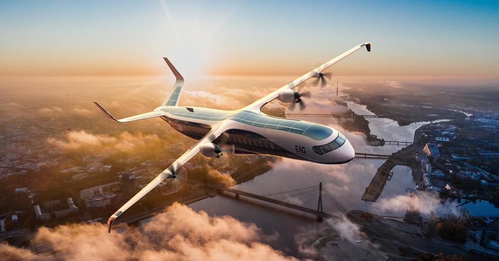 UK firm EAG details development roadmap for hybrid-electric regional  airliner | In depth | Flight Global