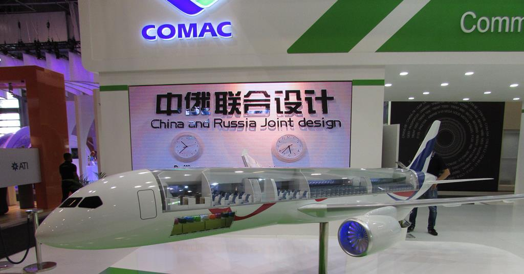 The in-development CR929, jointly developed by China and Russia, is reportedly still on track to take offin 2025, as both countries look to begi