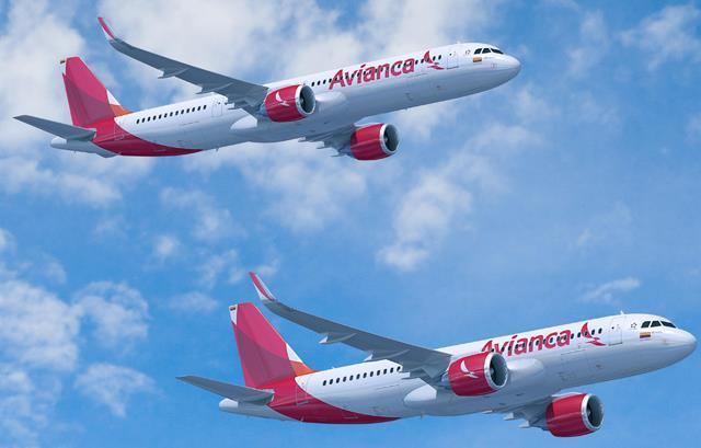 Avianca cancels 20 A320neo orders