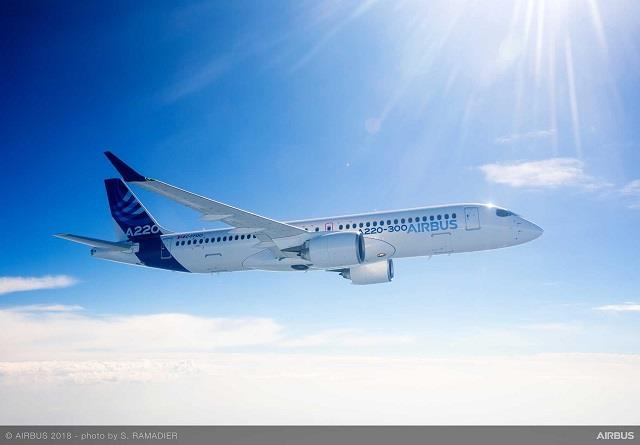 Airbus talks up A220's regional credentials as NAC firms order