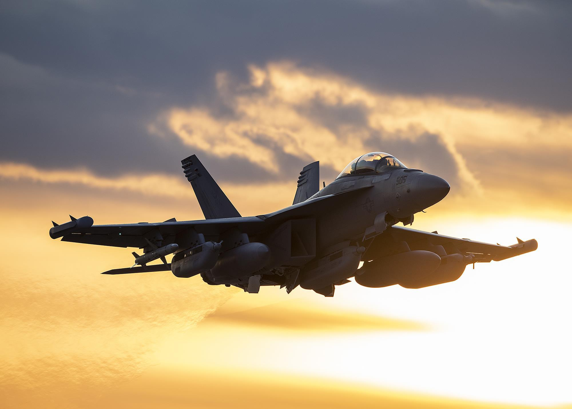 US Navy starts final tests of low-band jammers for EA-18G Growler