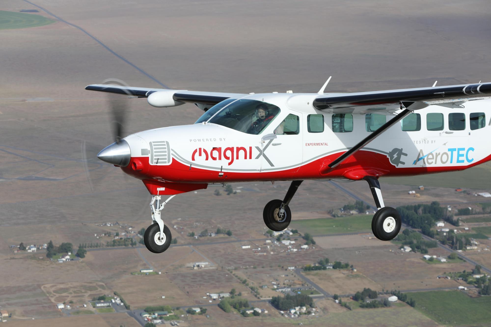 All Electric Grand Caravan Makes Maiden Flight News Flight Global