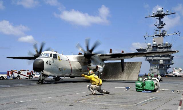 Battle brews over US Navy C-2A Greyhound replacement | News | Flight Global