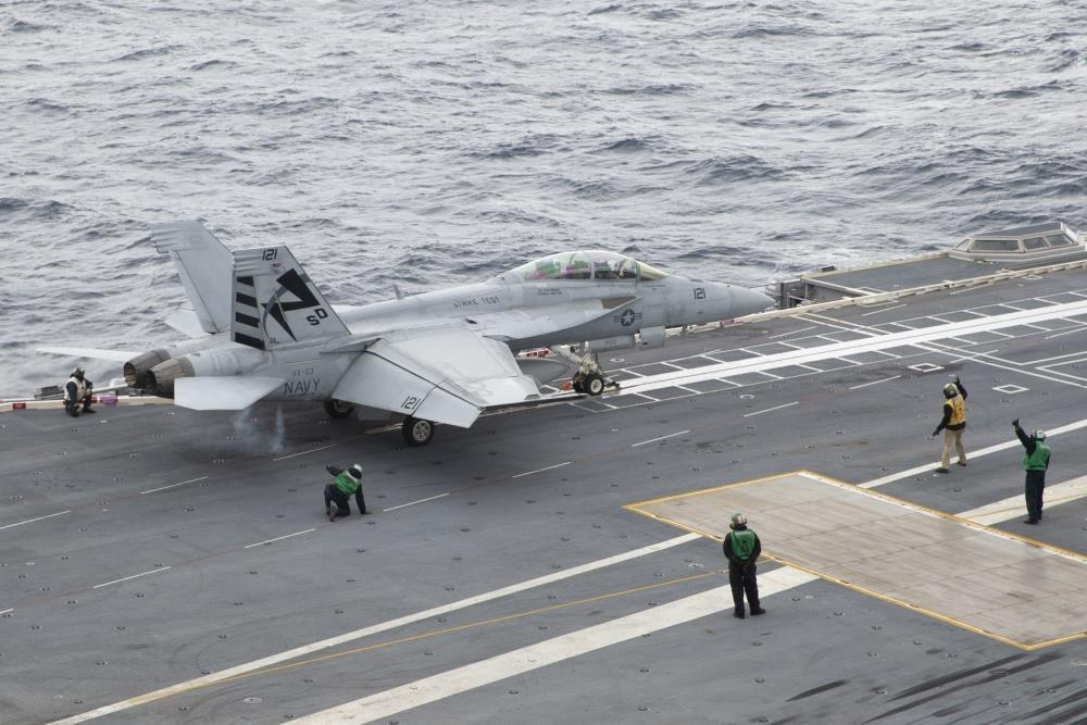 USS Gerald R Ford's EMALS cleared for all aircraft