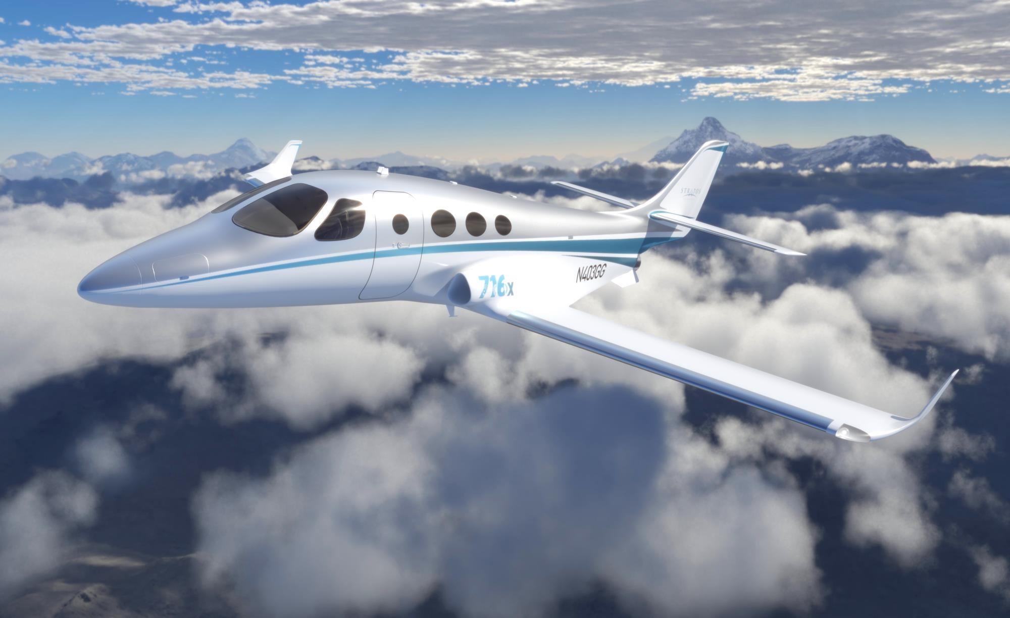 First Prototype Of Stratos 716 Very Light Jet Takes Shape News Flight Global