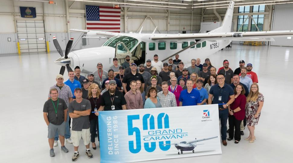 Textron Aviation Delivers 500th Grand Caravan Ex News Flight Global