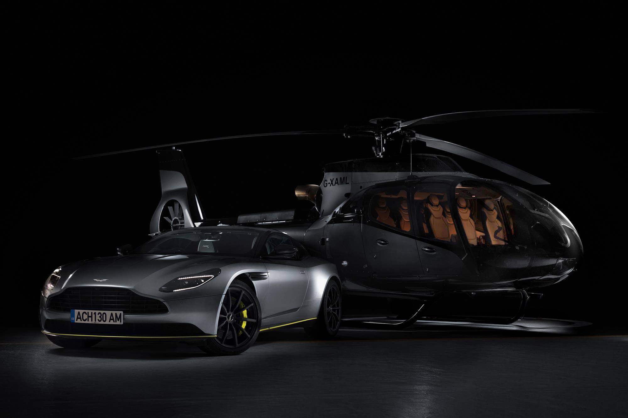 Airbus Corporate Helicopters And Aston Martin Launch Special Edition Ach130 News Flight Global
