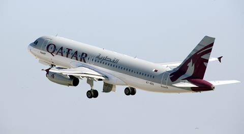 Airbus A320 Qatar Airways