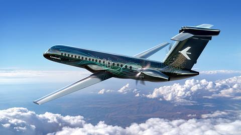 Embraer turboprop concept