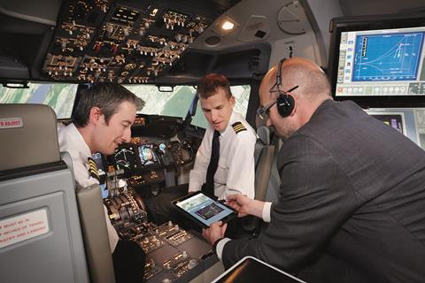 Trainee pilots