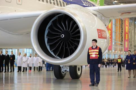 Comac C919 roll out - by Comac