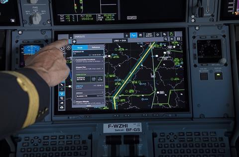 A350 touchscreen 1