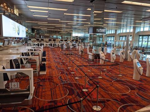 Changi Airport Coronavirus