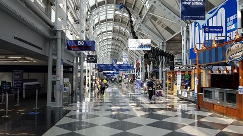 Chicago O'Hare airport 082520. Pilar Wolfsteller-2