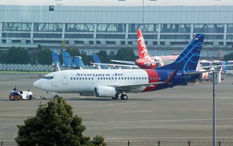 Sriwijaya Air 737-500 PK-CLC
