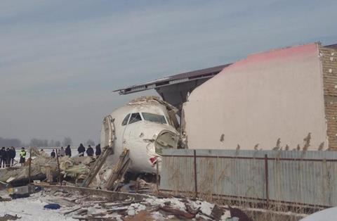 At least 14 die in Kazakhstan plane crash