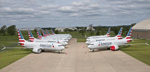 American-Airlines-737-MAX-Parked