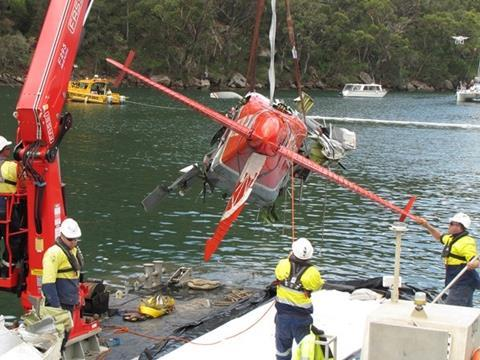 Sydney Seaplanes DHC-2 recovery