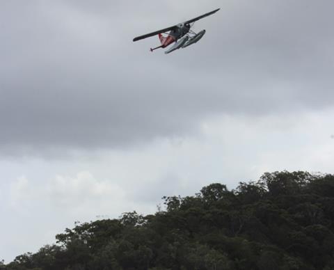Crashed Sydney Seaplanes DHC-2