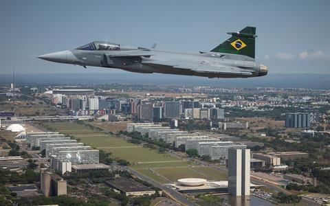 Saab F-39E Gripen Brasília