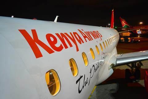 Kenya Airways Embraer 190shutterstock_1618404946