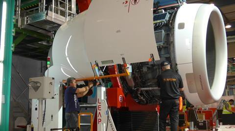 Safran Leap-1A nacelle podding Toulouse