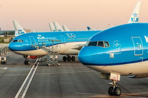 KLM aircraft 2020