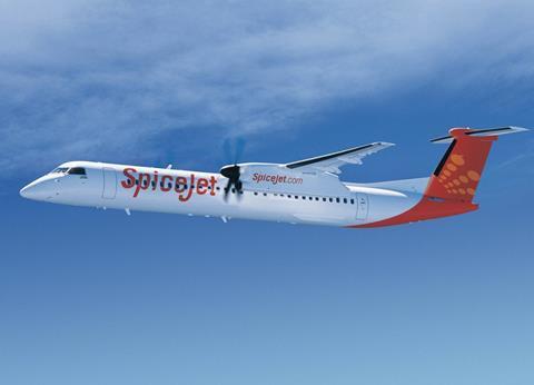 SpiceJet Q400-c-Bombardier