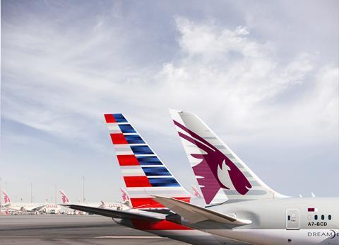 Qatar Airways and American Airlines codeshare