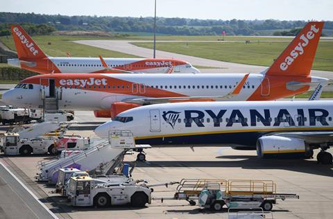 Ryanair, Easyjet narrowbodies