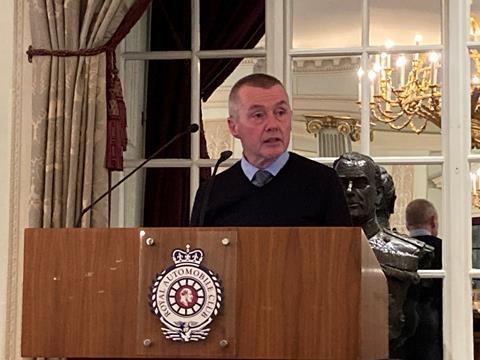 Willie Walsh speaking at Aviation Club