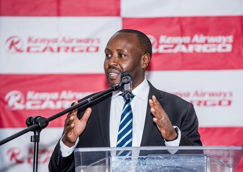 Kenya Airways chief executive