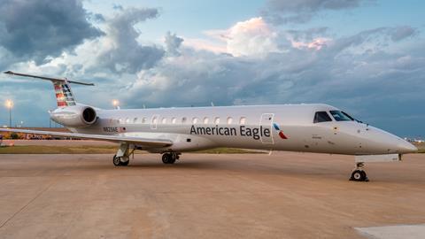 Envoy Air E140, American Eagle, source Envoy