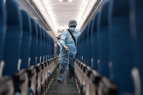 VN_disinfect aircraft_coronavirus