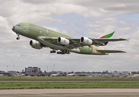 Last A380 for Emirates