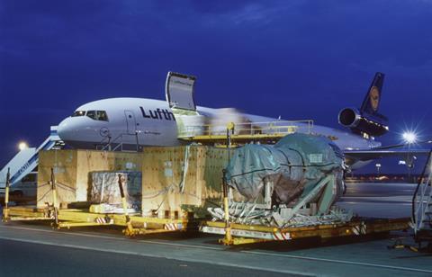 Lufthansa Cargo Boeing MD-11