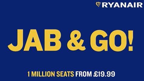 Ryanair advert