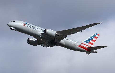 American Airlines Boeing 787