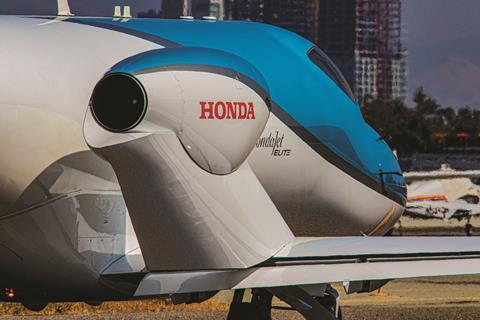 HondaJet HF120 engine