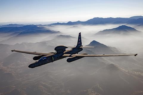 U-2 spyplane fleet gets new high-powered camera | News | Flight Global
