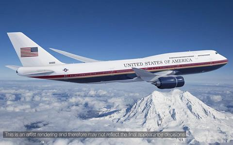 Air Force One' gets $168 million cost