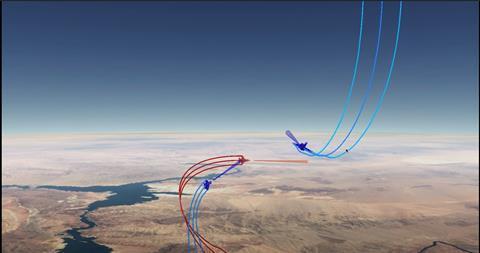 DARA ACE Scrimmage 1 c DARPA video screenshot