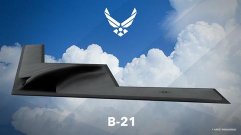 B-21 rendering
