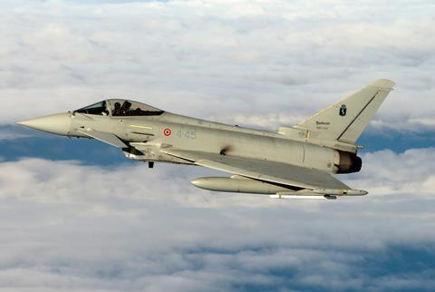 Eurofighter dell'Aeronautica Militare