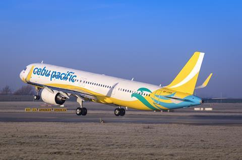 First A320neo for the Philippines' Cebu Pacific