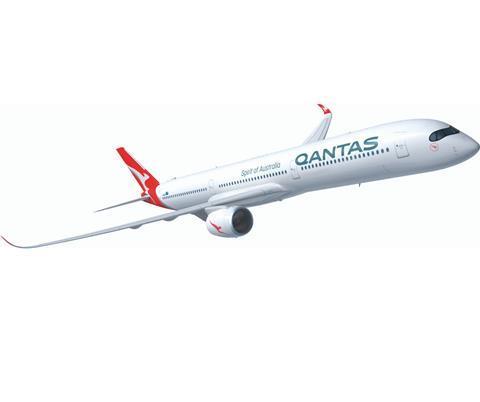 A350-1000 Qantas livery