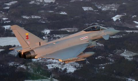 Eurofighter Typhoon in Finland
