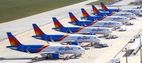 Allegiant Air's Airbus A320s (April 2019)