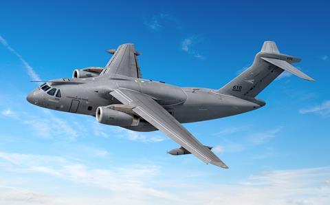 KC-390 Hungary rendering
