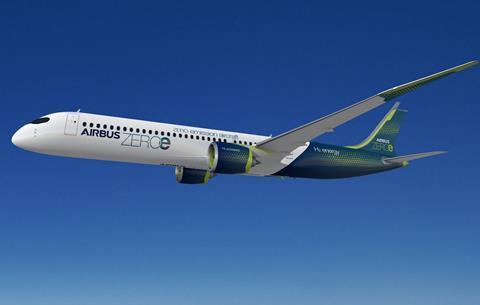 Airbus H2 aircraft-c-Airbus